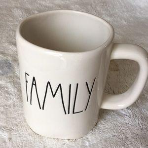Family Ceramic Mug EUC (not Rae Dunn) solid
